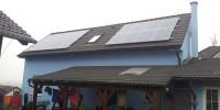 Střecha rodinného domku, Srubec