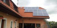 Střecha rodinného domku, Lhotka - Olešnice u Českých Budějovic